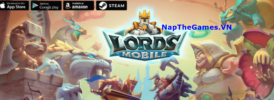 nạp tiền lords mobile