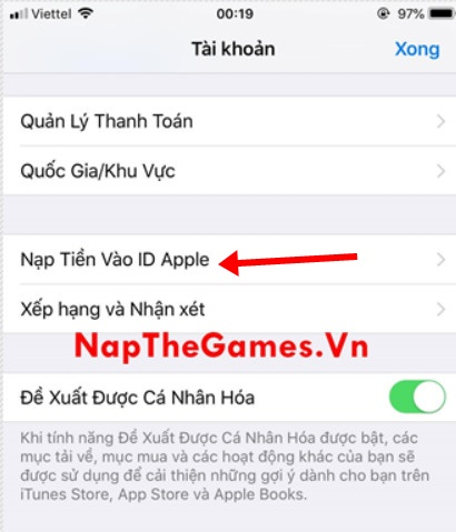 nạp game autochess mobile