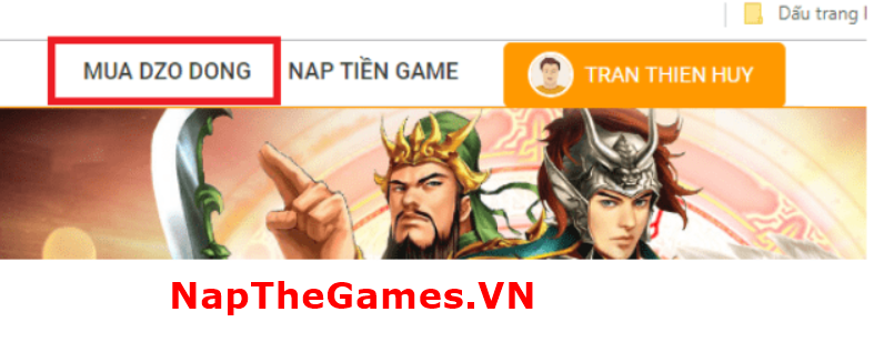 nạp thẻ game ts online mobile