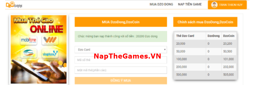 nap the ts online mobile