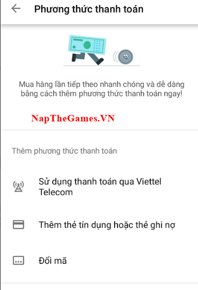 nạp light of thel sms