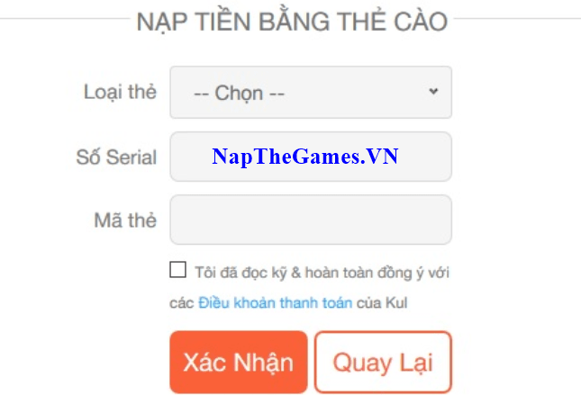 nap the ngu kiem mobile